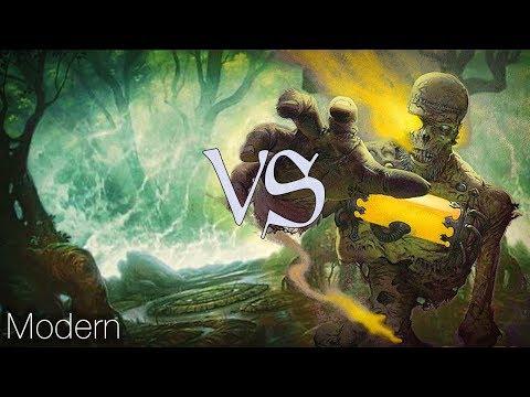 MtG Modern Gameplay - Saheeli Evolution VS Black Burn