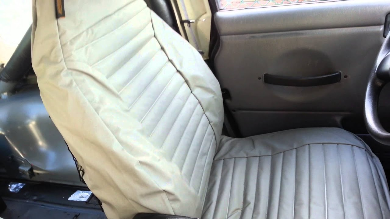 97 02 Jeep Wrangler Bestop Seat Covers Review