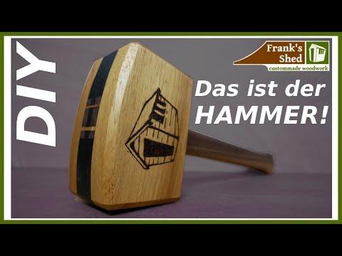 ⚽ Der (Holz)Hammer zur WM 2018 ⚽ Selber bauen mit extra Gewicht