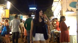 Arpora Night Market Goa India 2017