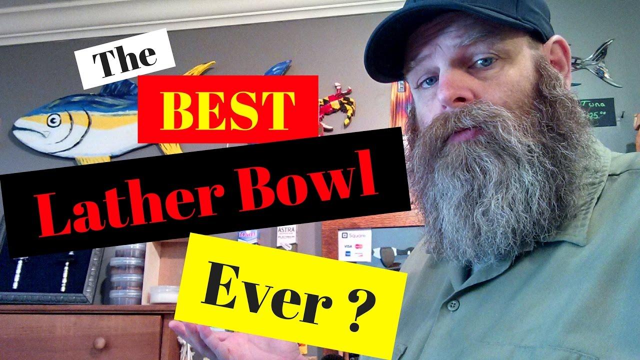 captains choice lather bowl