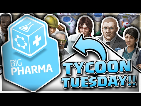 BUILDING MY OWN PILL FACTORY?! - *TYCOON TUESDAY* BIG PHARMA
