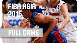 Japan v Philippines - Semi-Final - Full Game - 2015 FIBA Asia Championship