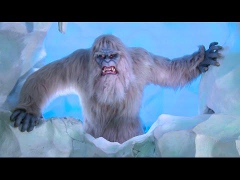 New Yeti animatronic & effects on Matterhorn Bobsleds at Disneyland