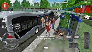 Public Transport Simulator #54 - Bus Games Android IOS gameplay walkthrough #busgames