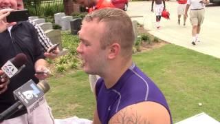 TigerNet.com - Ben Boulware talks about shaving his beard