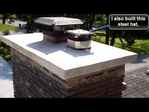 Chimney Cap Water Proofing