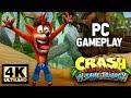 Crash Bandicoot N Sane Trilogy PC Gameplay 4K 60fps mp3