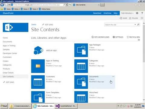 Building JavaScript-Only Web Parts for SharePoint