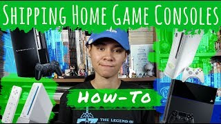 How To Ship Home Video Game Consoles (Playstation, Xbox, Wii)