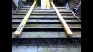 Бетонные ступени для лестниц(