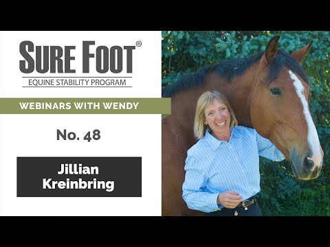 No. 48. Jillian Kreinbring Talks About The Hyoid Bone In The Horse And The Influence Of SURE FOOT.