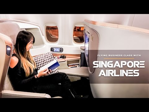Flying Business Class with Singapore Airlines 777-300ER: Philippines to New Zealand Route!