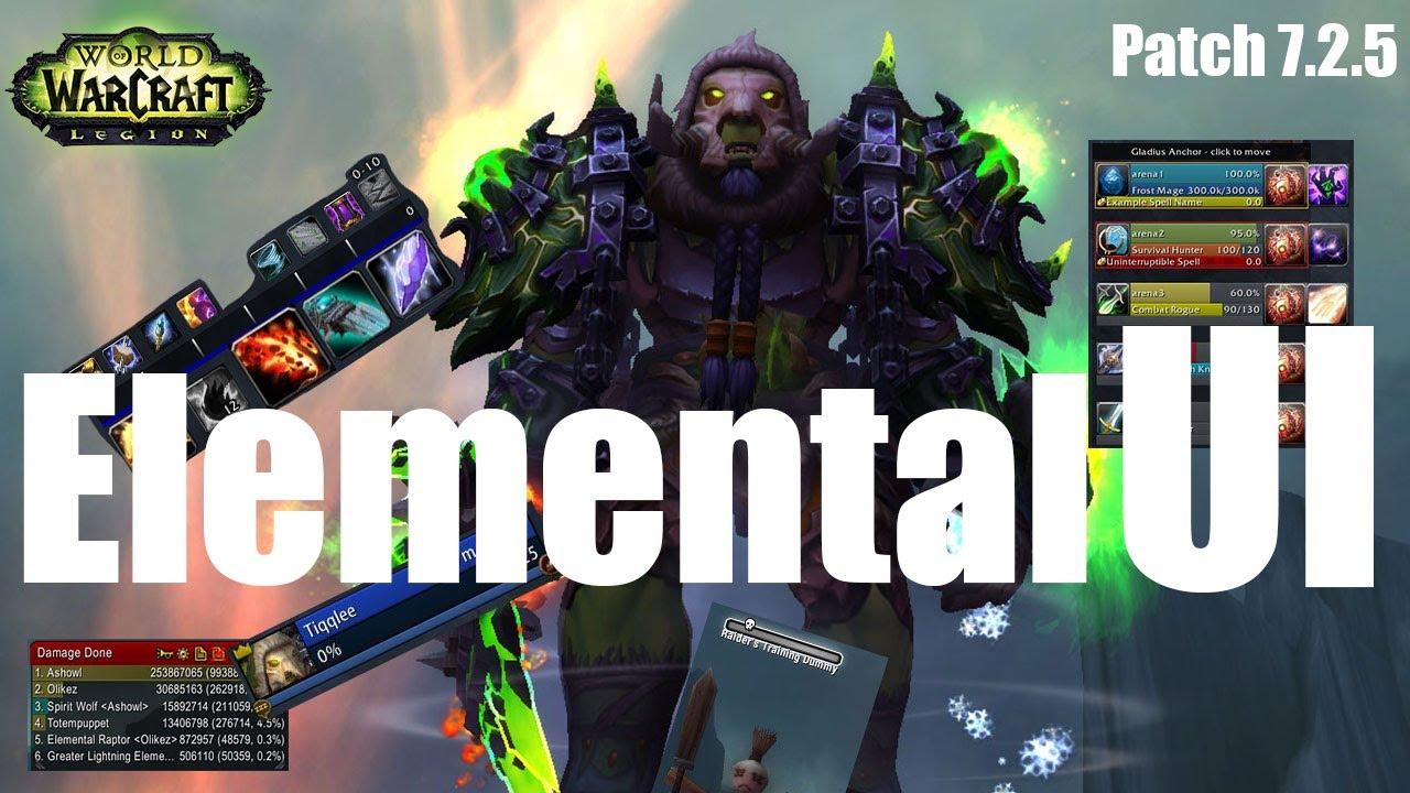 7 2 5 Elemental Shaman UI Setup - Shaman - Icy Veins Forums