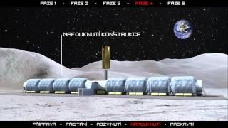 Základna na Měsíci - Moon Base (Space Architecture Project)