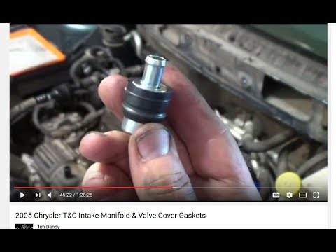 2005 T Amp C Pcv Valve Replacement Youtube