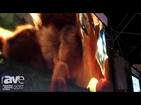 ISE 2017: Chainzone Technology Shows Off Lite 2 Series Indoor Screen