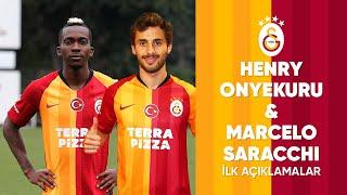 🎙 Onyekuru ve Saracchi'den imzalar sonrasında açıklamalar