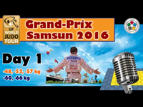 Judo Grand-Prix Samsun 2016: Day 1