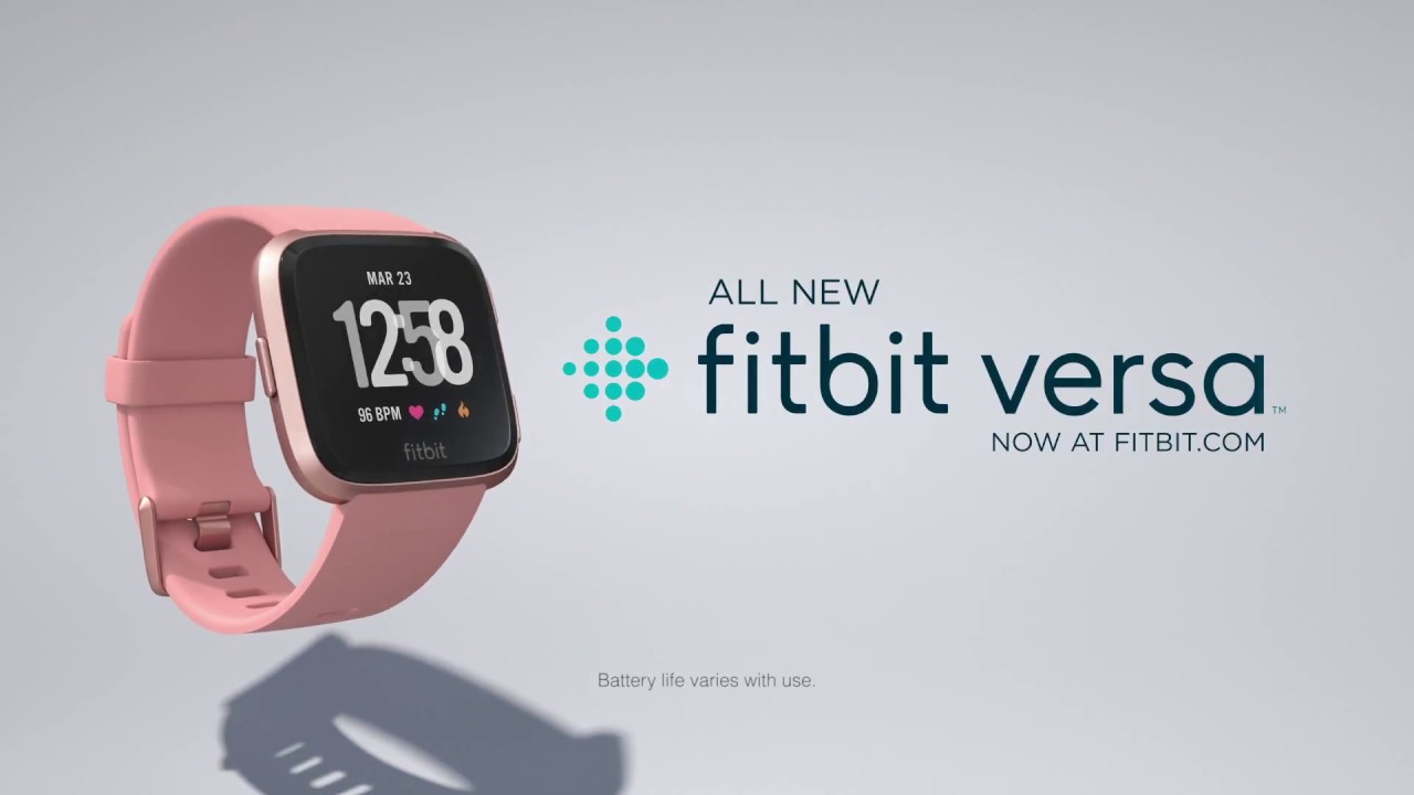 Fitbit Versa- Your All-Day Health companion