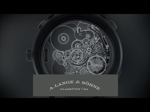 The most complicated Lange watch: GRAND COMPLICATION – A. Lange & Söhne