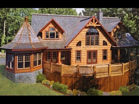 Деревянный дом своими руками из бруса фото