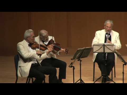 Guarneri Quartet / David Shifrin - Brahms Clarinet Quintet, Movt. 3