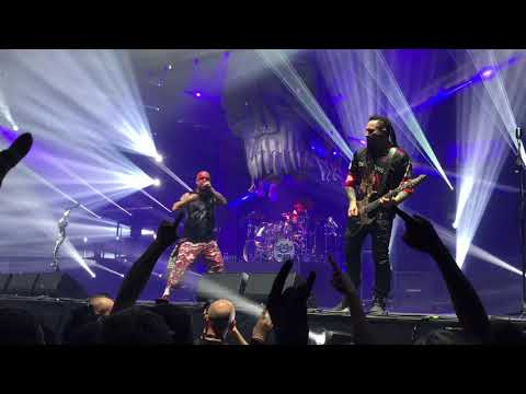Five Finger Death Punch - Consert - the Heavy Metal Grandma Show - 18.11.2017 - Oslo Spektrum