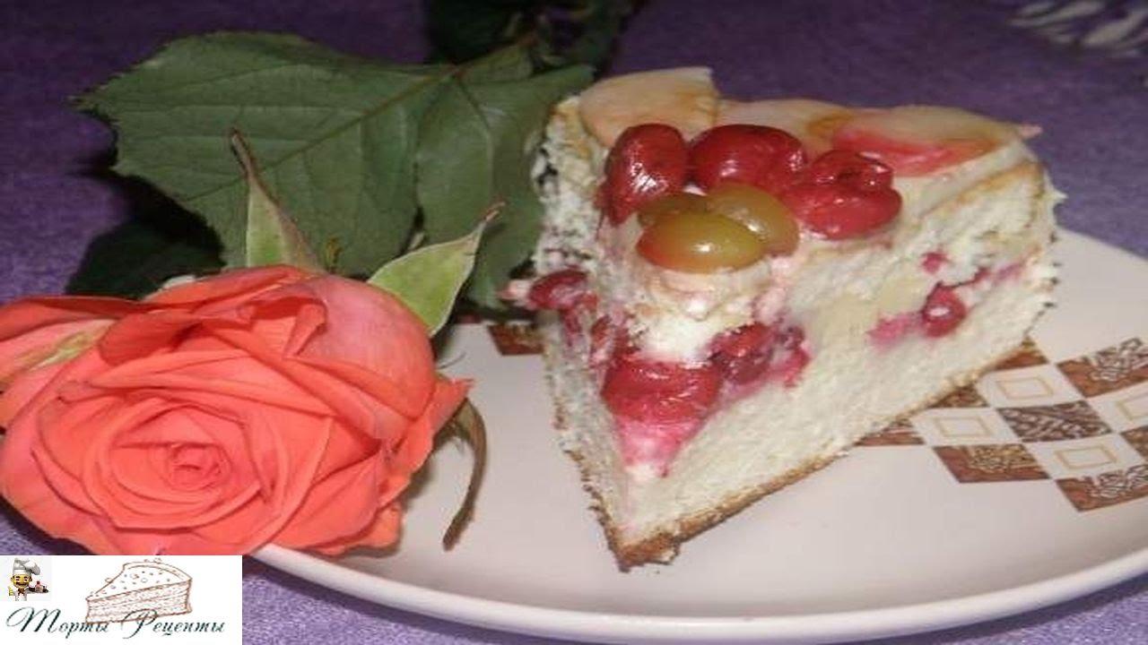 как приготовить бисквитный торт на скорую руку