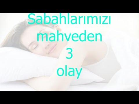 Sabahlarımızı mahveden 3 olay