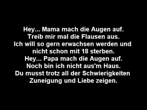Sido Augen auf Lyrics - YouTube