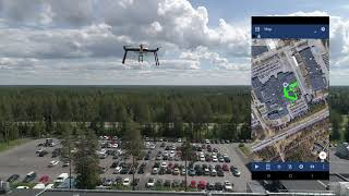 Taking 5G network testing to another level with Nemo Handy and Nokia drone