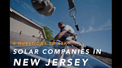 Solar Companies in NJ
