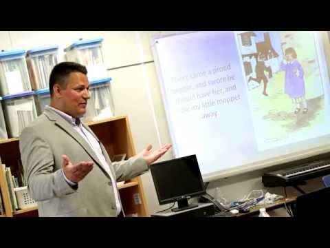 Attorney Chad Kreblin Speaks at Wales Elementary Career Day