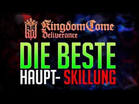 DIE BESTE HAUPT - SKILLUNG in Kingdom Come: Deliverance Tipps deutsch