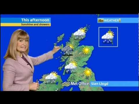 Sian Lloyd - 22/1/12 - Lunchtime - Weather