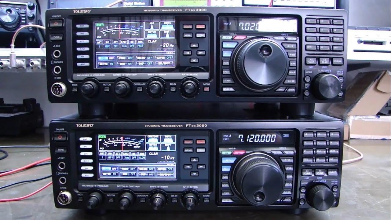 ALPHA TELECOM: DOIS YAESU FTDX-3000 COM PROBLEMAS NA PORTA USB APÓS SOBRECARGA