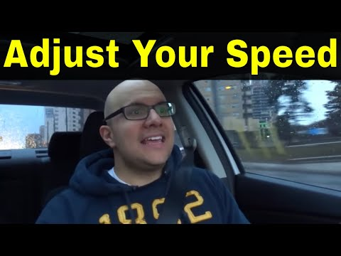 How To Adjust Your Speed When Turning-Beginner Driving Lesson