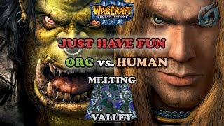 Grubby | Warcraft 3 The Frozen Throne | Orc v. HU - Just Have Fun - Melting Valley