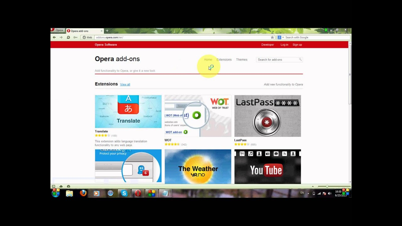 How to install addons on Opera Mini Browser (Tutorial)