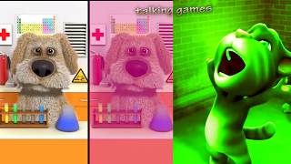 Ailamalia #Talking Tom and Friends Ben Colors Reaction Compilation Funny Videos