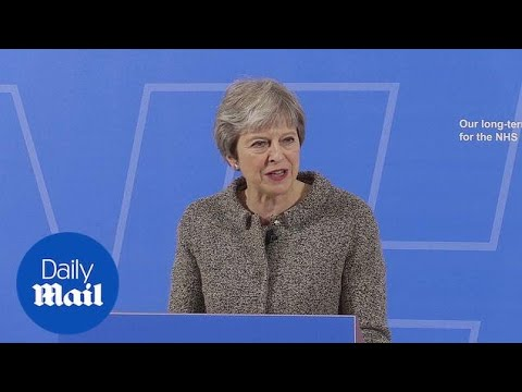PM Theresa May Outlines That NHS Will Get More Funding