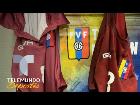 El increíble papelón de la playera de Venezuela | Telemundo Deportes