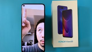 Honor View 20 (Global Version) Unboxing + Hands-On: A Hole In The Screen
