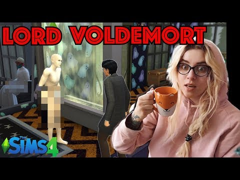 Voldemort 🤬 Kontra HARRY POTTER ✨ W The Sims 4 💕# 3️⃣