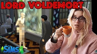 Voldemort  kontra HARRY POTTER ✨ w The Sims 4 # 3️⃣
