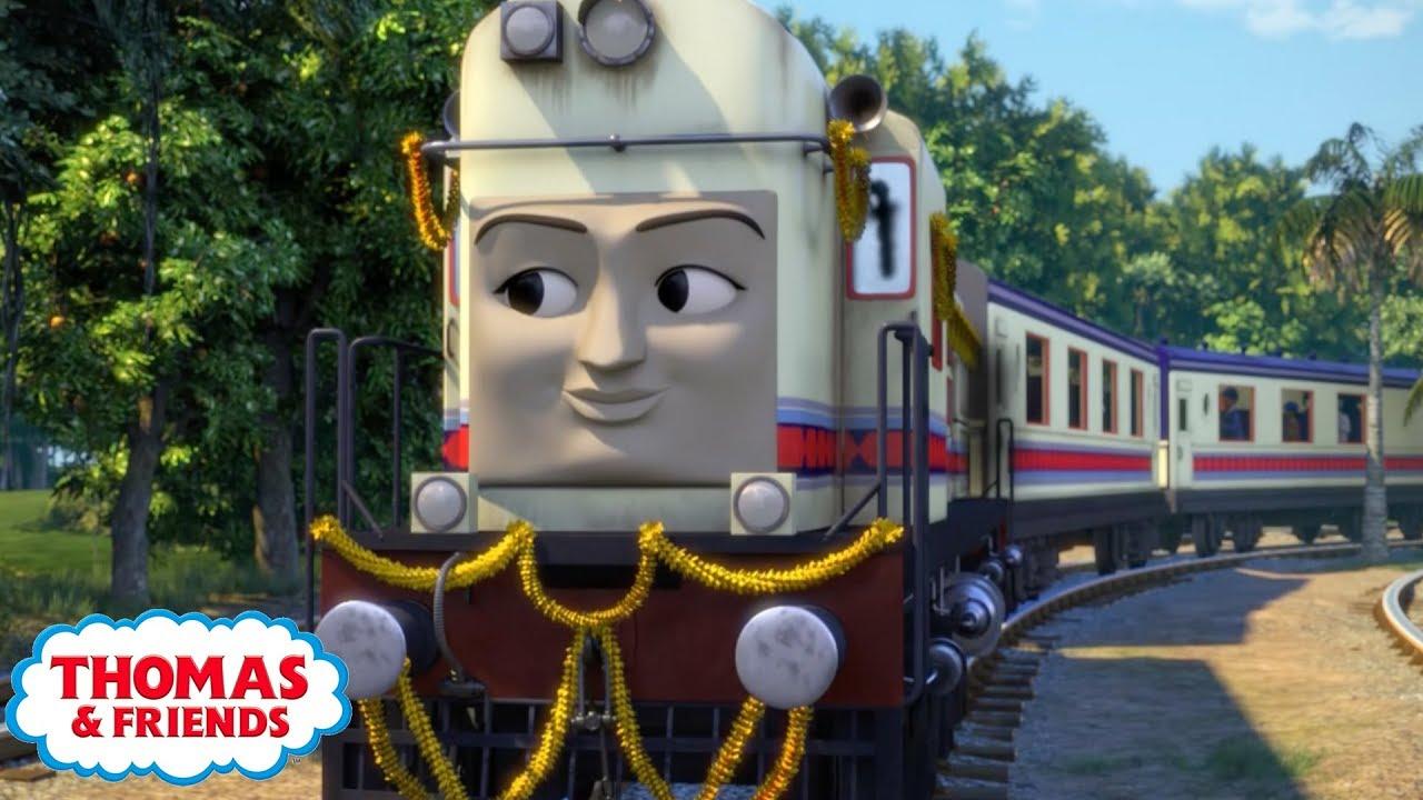 Thomas & Friends | Meet The Characters - Noor Jehan of India | Kids Cartoon