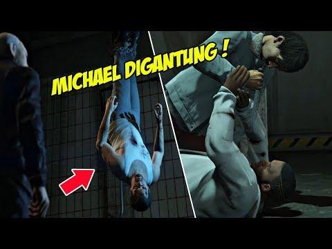 HAMPIR MATI ! USAHA FRANKLIN SELAMATKAN MICHAEL | GTA 5 MISI 56 : FRESH MEAT | PC