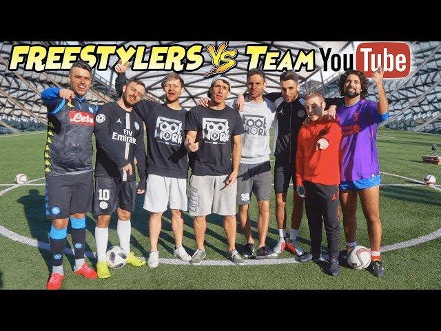 SFIDA al CAMPO ! FOOTWORK vs Team YOUTUBE !! ft. Ohm - Fius Gamer - Enry Lazza