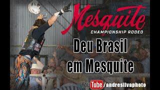 2020 Aug 01, Deu Brasil no rodeio tradicional rodeio de Mesquite.